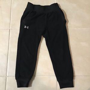 Under Armour Black Fleece Pants Size 4T